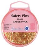 H419.00.200 Safety Pins: Value Pack - 23mm - 200pcs